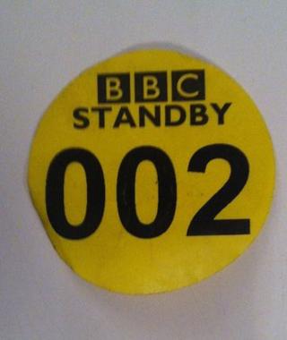 Standby sticker